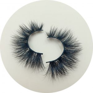Wholesale Mink Lashes Vendors USA 25mm Mink Strip Lashes Manufacturer