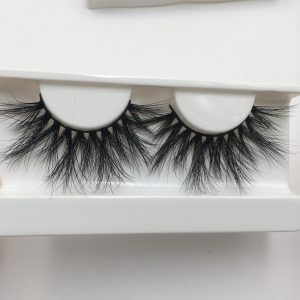 25mm mink strip lashes(DH002)