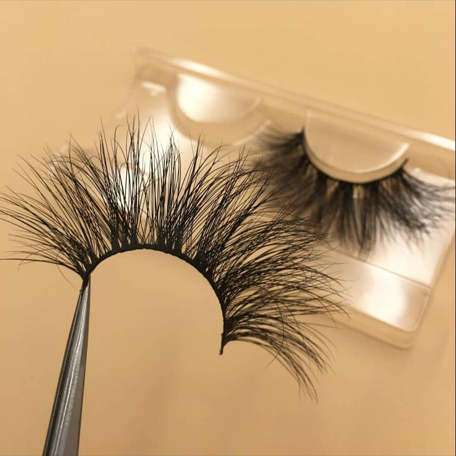 Show Actual Pictures Of 25mm Mink Lashes Strips - Anr Lashes