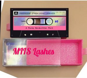 cassette pate lash packaging boxes