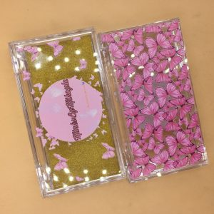 Custom Lash Boxes Butterly