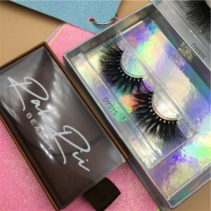 High Quality Mink Lashes 25mm Siberian mink lashes