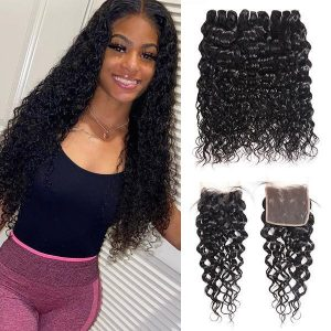 BrazilianWaterWave3Bundleswith5x5LaceClosureVirginHumanHair_4_740x